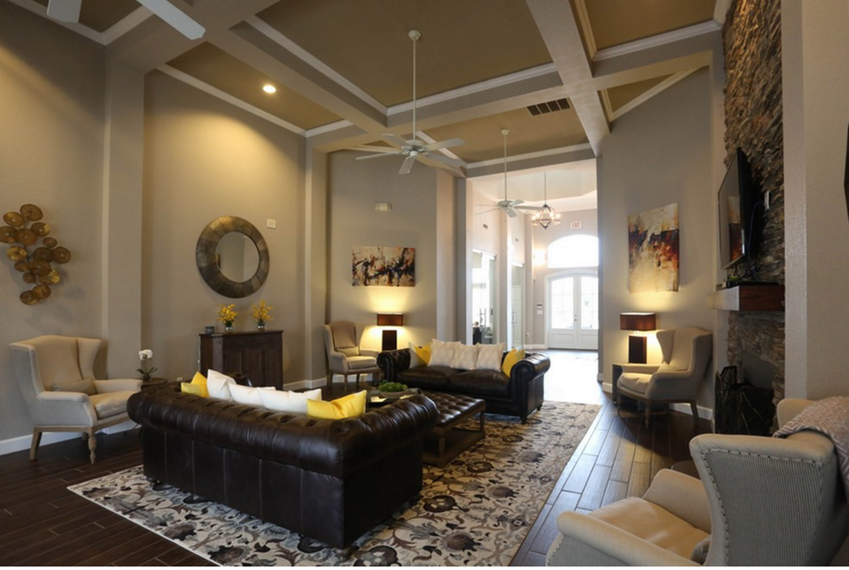 Image of Clubhouse for Turnberry Place Apartments