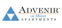 Advenir at Milan Logo | Apartment In Sugar Land Tx | Advenir at Milan