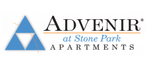 Advenir at Stone Park Logo | North Houston Tx Apartments | Advenir at Stone Park
