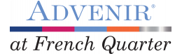 Advenir at French Quarter Logo | Apartments In South Denver | Advenir at French Quarter