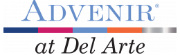 Advenir Living Logo | Apartments In Aurora Co | Advenir at Del Arte