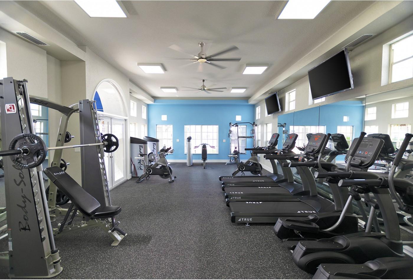 Miami apartments with gym