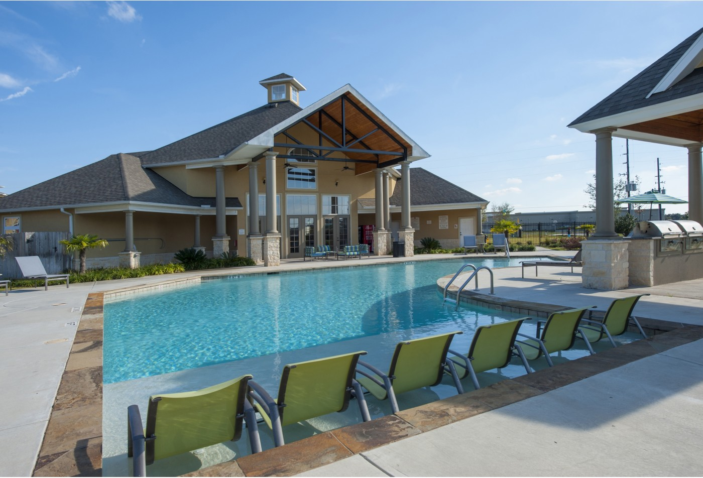 Resort Inspired Swimming Pool