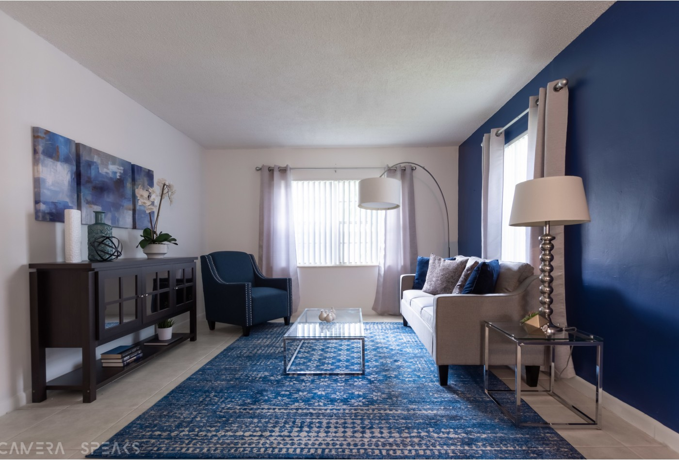Open Layout living room