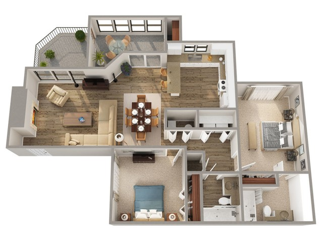 Brunswick Floorplan