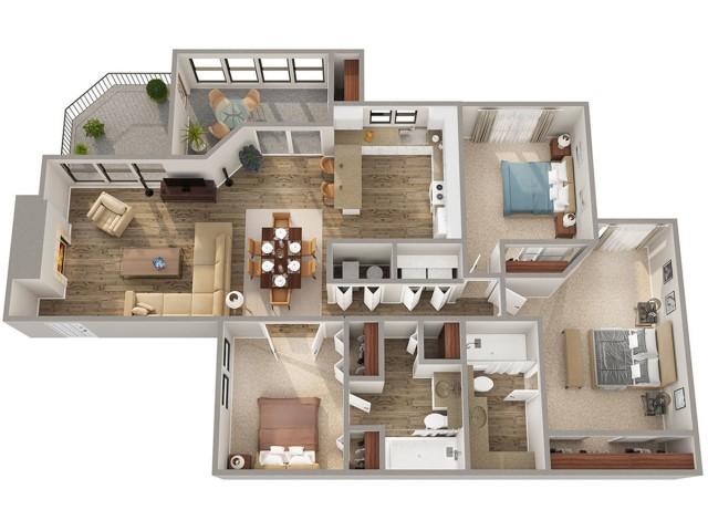 Piedmont Floorplan
