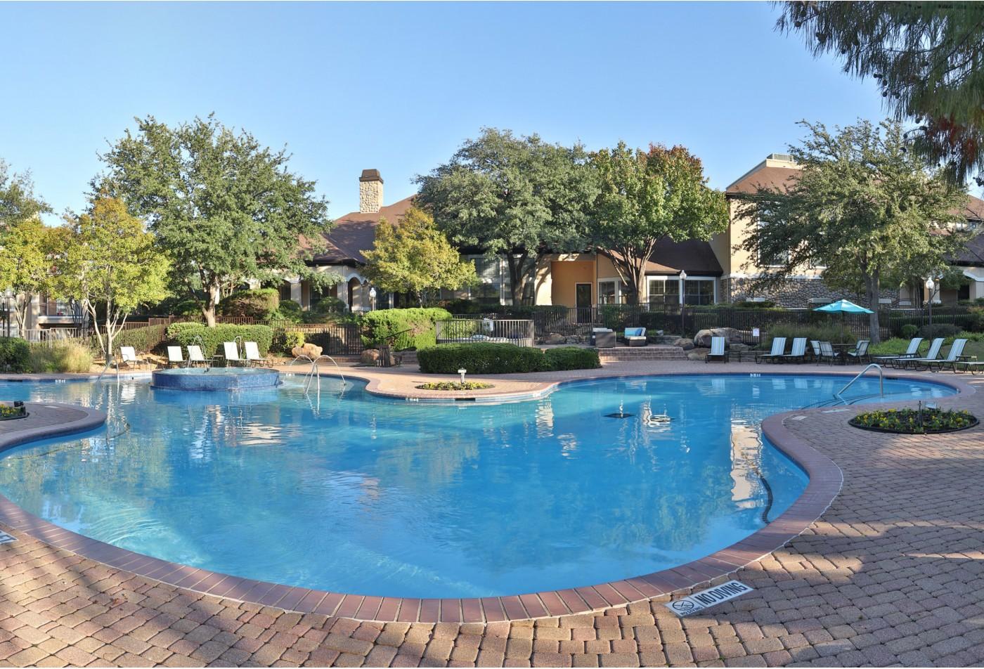swimming pool apartment community