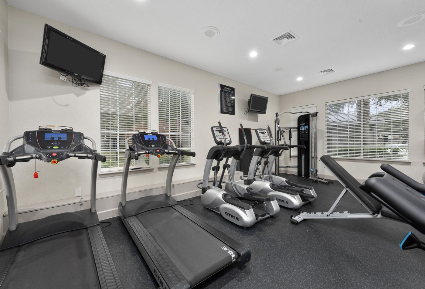 Fitness Center fully equipped