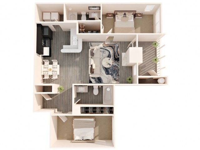 2 bedroom apartments greensboro north carolina