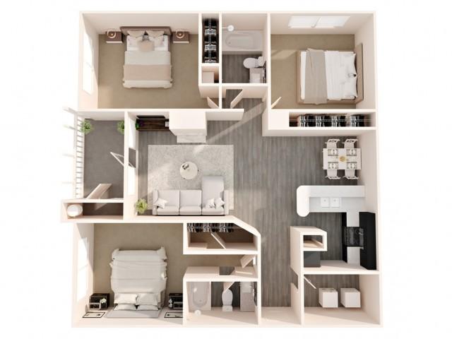 3 bedroom and 2 bathroom apartments greensboro nc