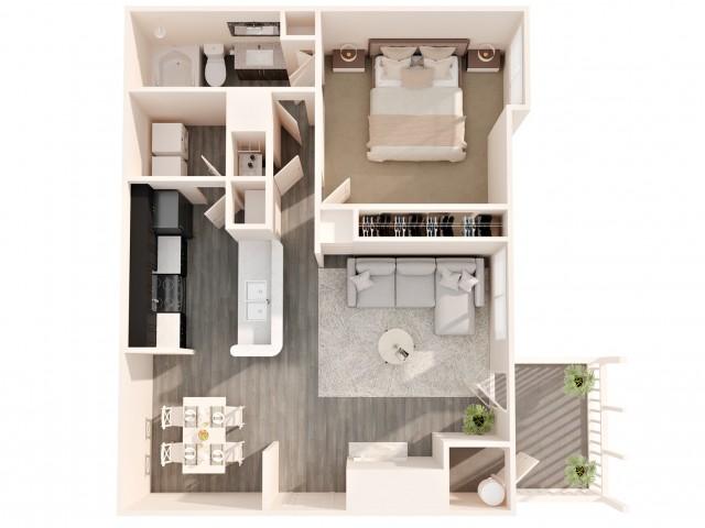 1 Bed / 1 Bath Greensboro NC apartments