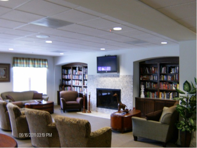 Image of Open lobby area for Buena Senior Apartments