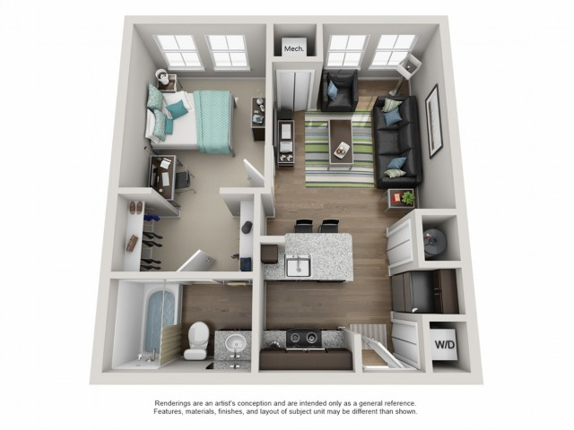 Floor Plans Amp Availability Campus Circle Uiuc Apartments