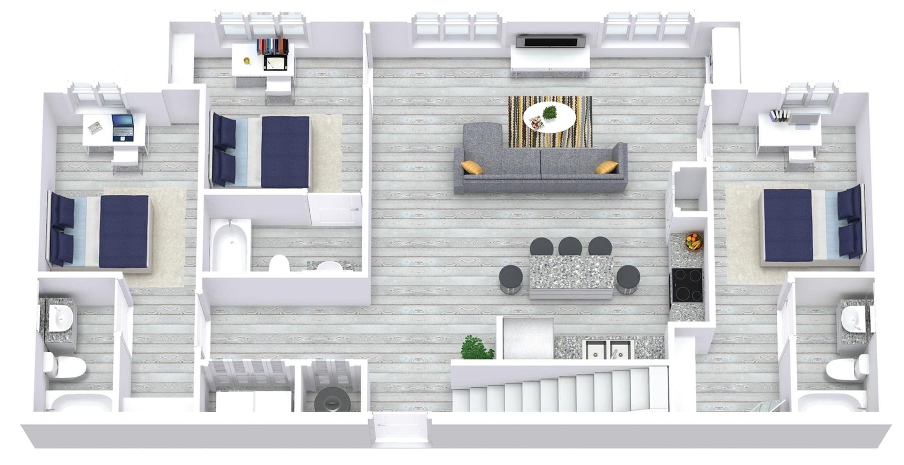 5x5 Floor One