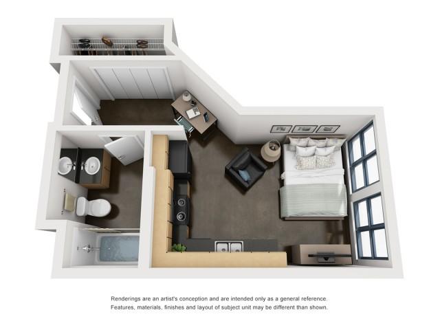 Filmore 3D Floorplan