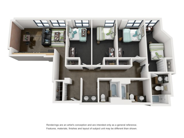 Harrison 3D Floorplan