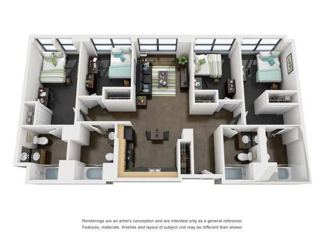 Madison 3D Floorplan