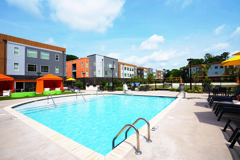 Resort Style Pool | Apartments in Clemson, SC | GrandMarc Clemson