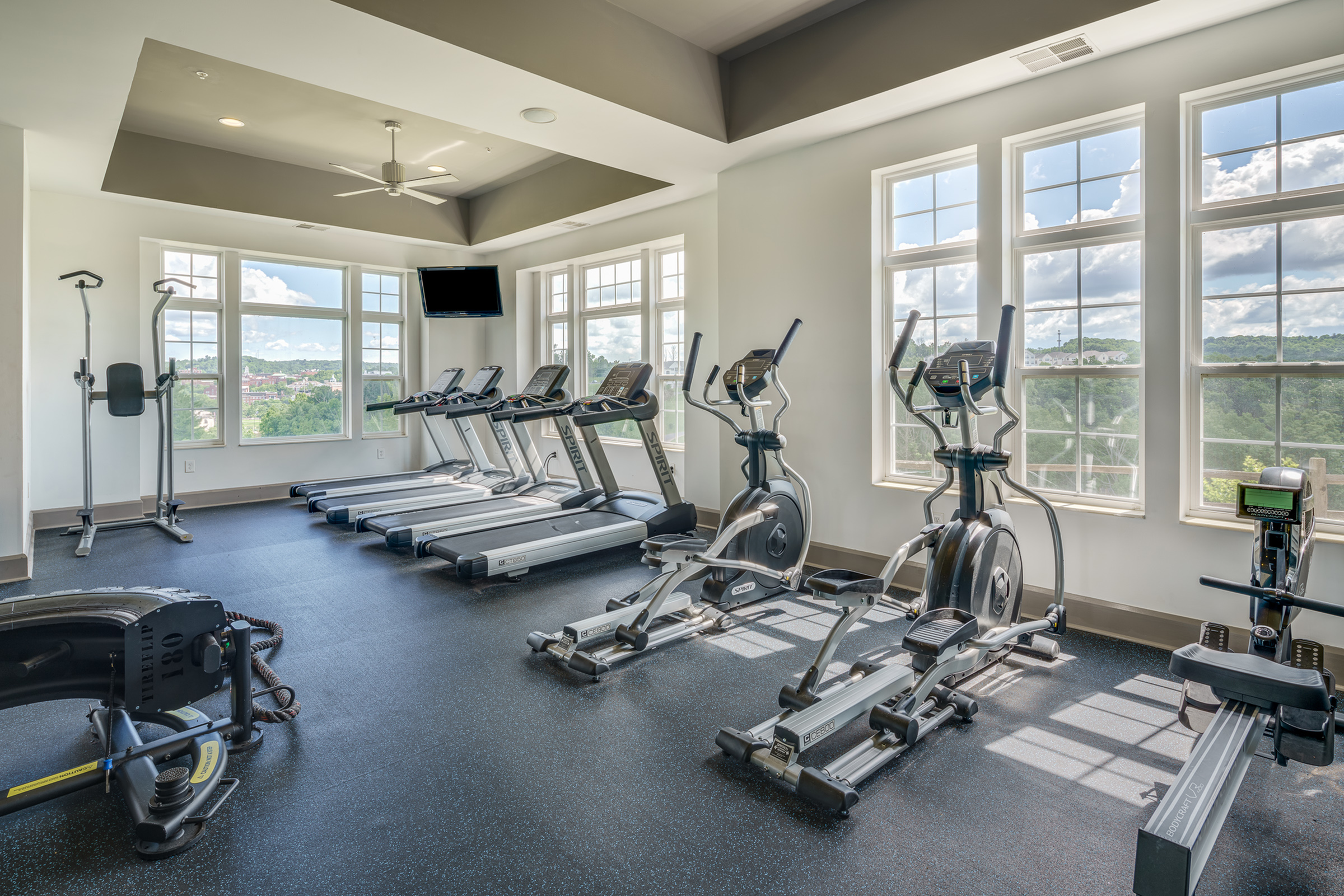State-of-the-Art Fitness Center   Apartment Homes in Athens, OH   The Summit at Coates Run