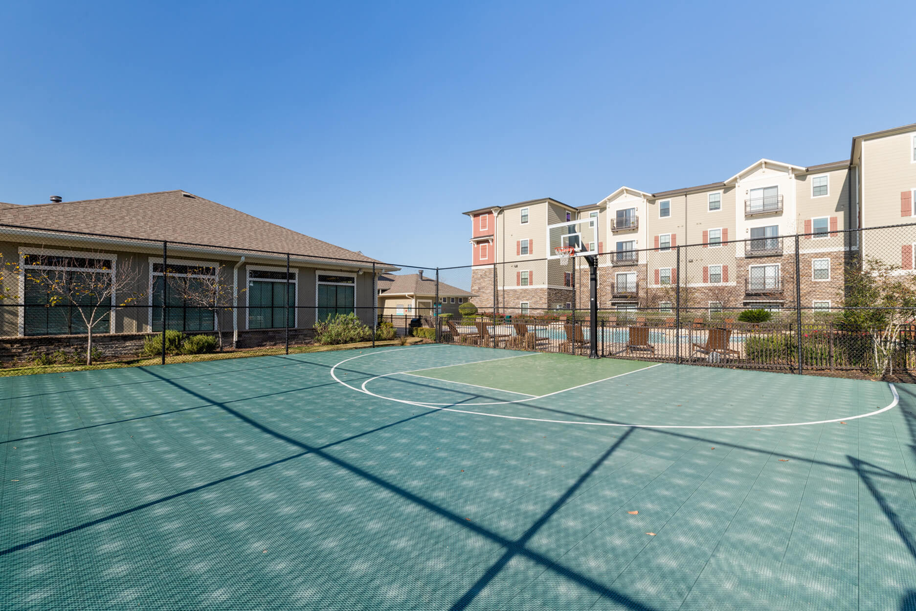 Community Basketball Court | Apartment Homes for rent in San Marcos, TX | Arba