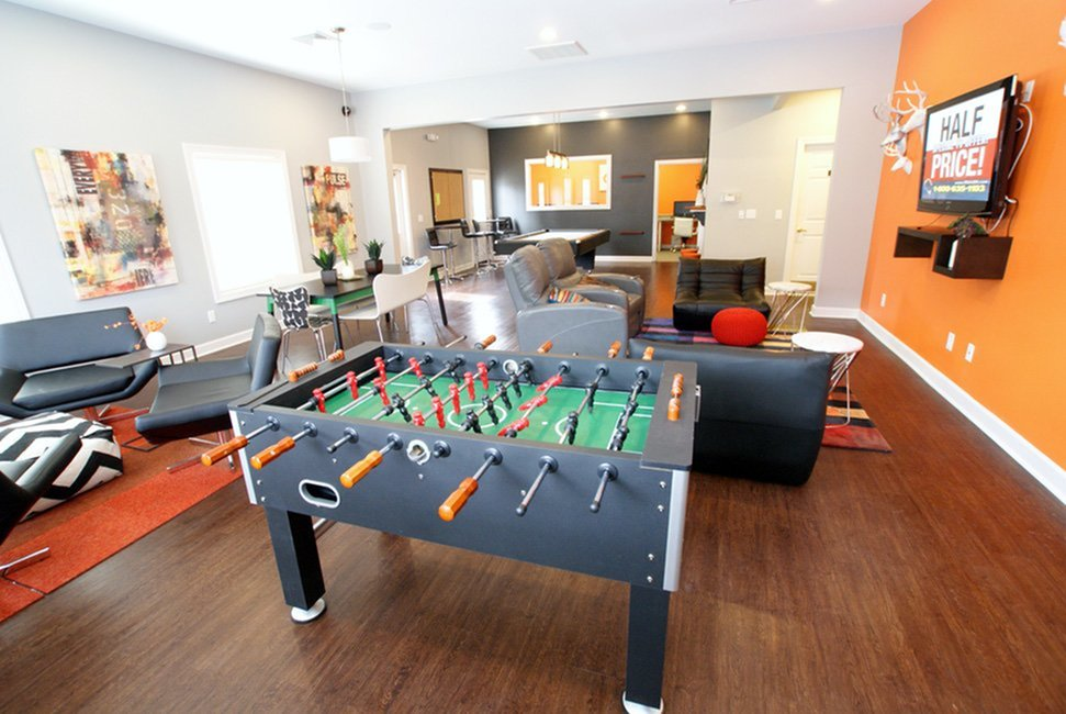Resident Game Room | Apartments in Murfreesboro, TN | Campus Crossing