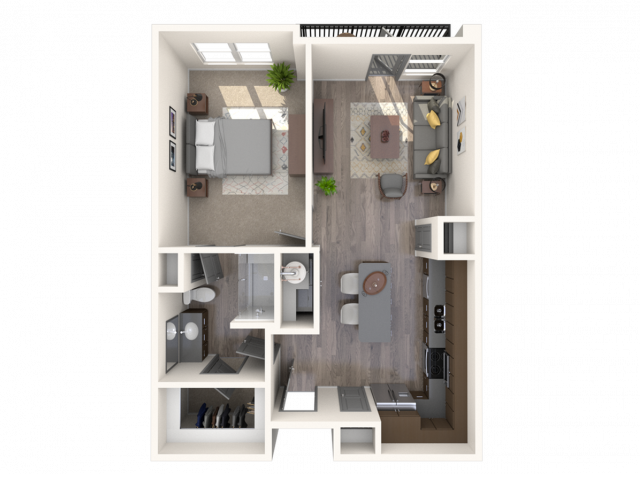 The Cadence A1 Floor Plan