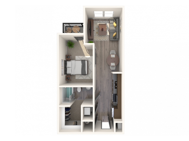 The Cadence E1 Floor Plan