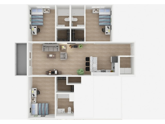 3x3 Floor Plans | Valley Falls | Apartments in Spartanburg, SC