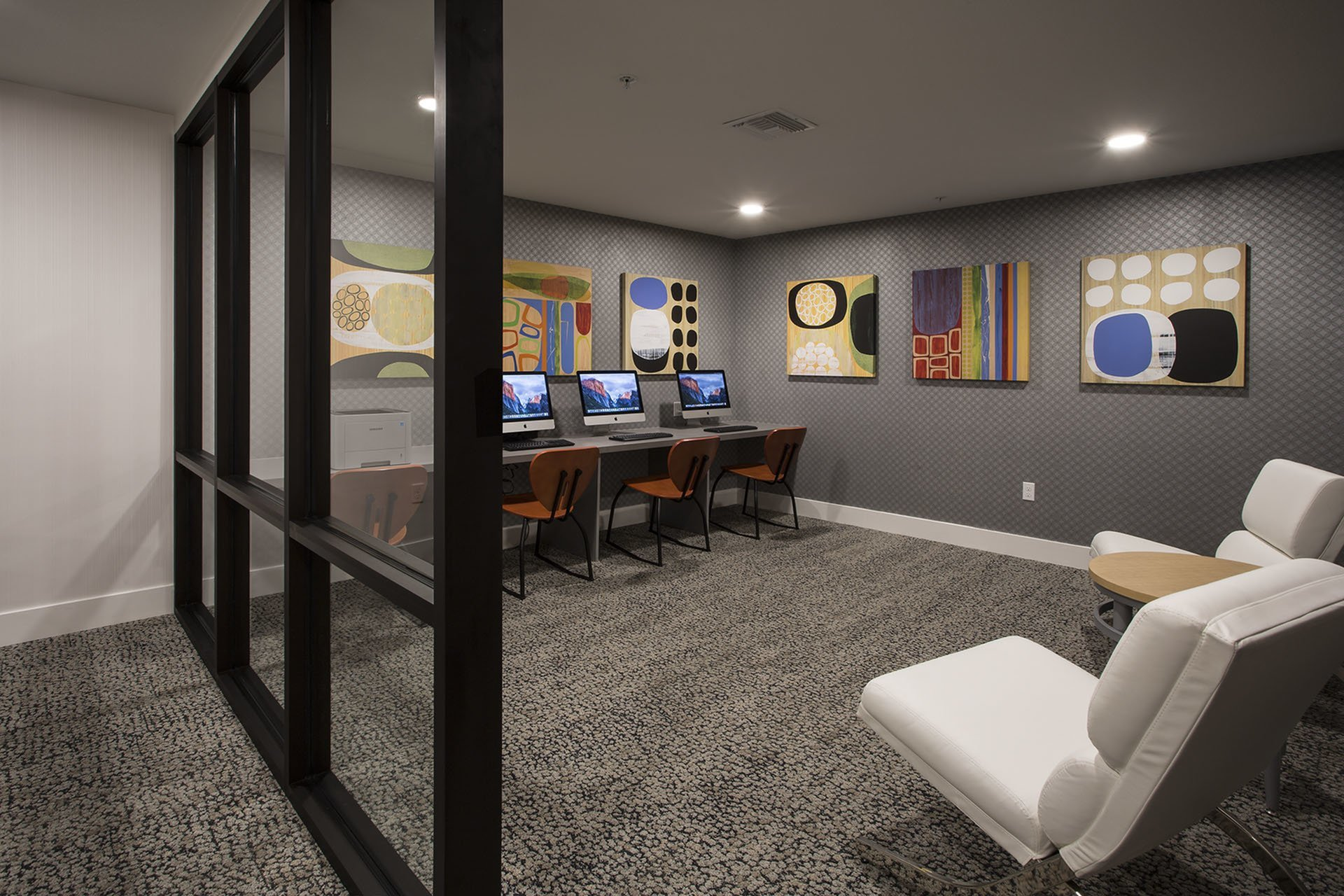 Resident Business Center | San Jose CA Apartment For Rent | 27 North