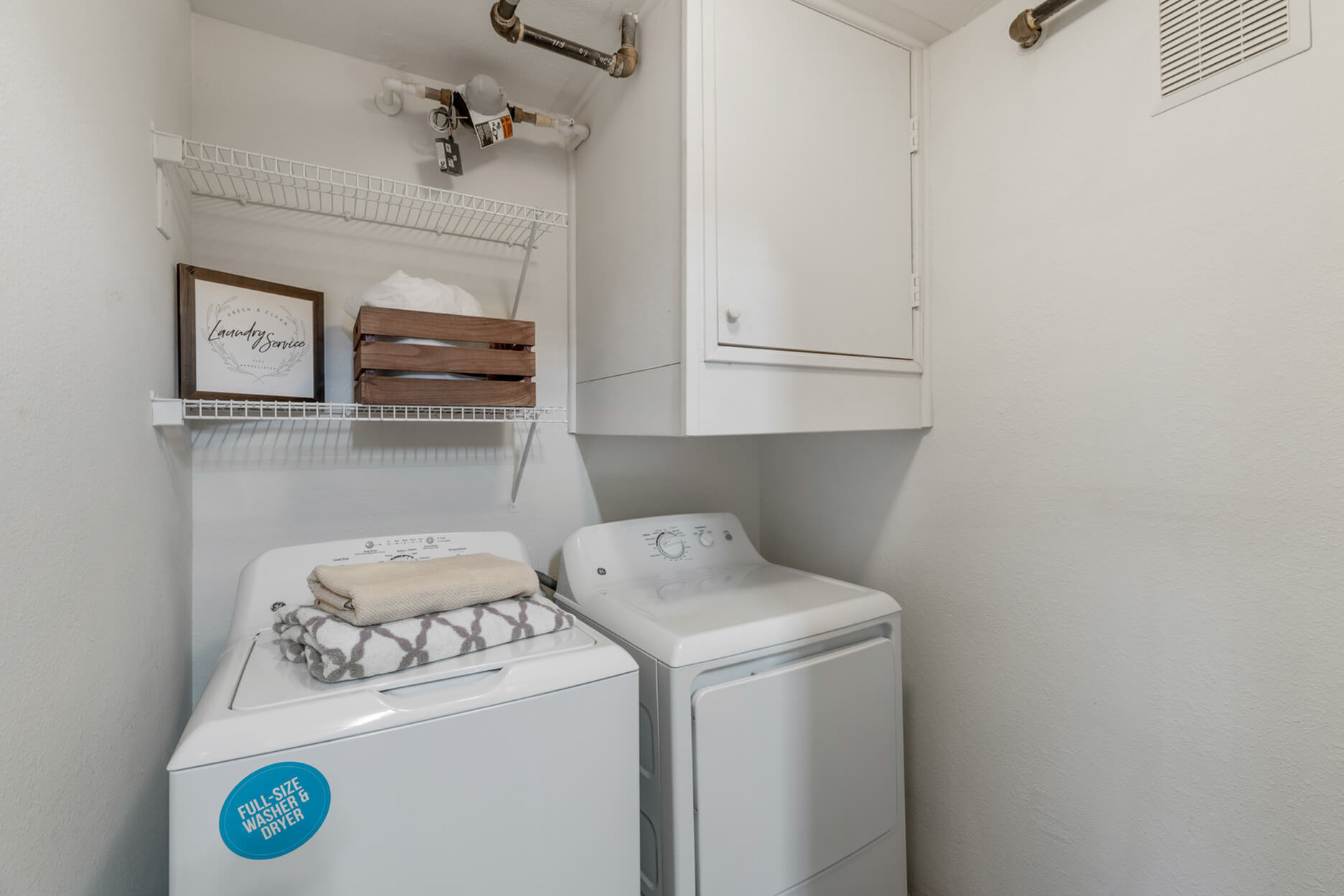 In-home Laundry  | Apartment Homes for rent in Denton, TX | Castlerock at Denton