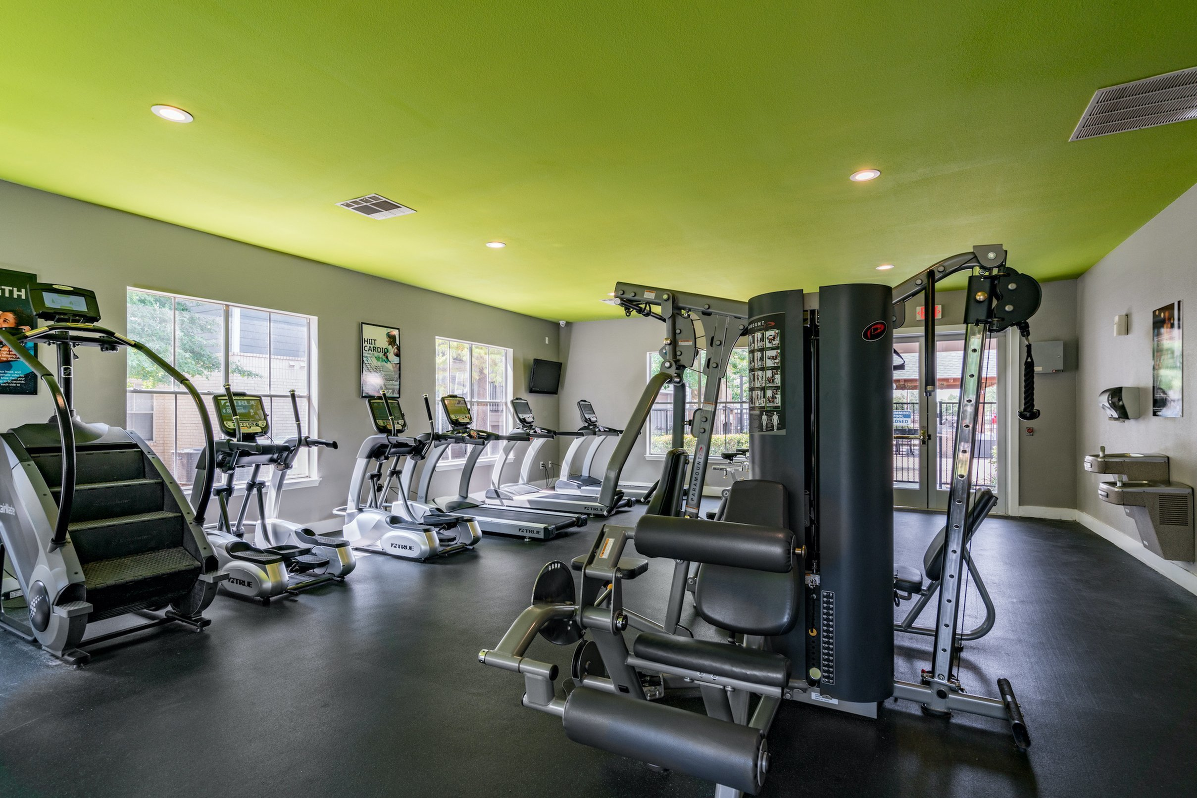 State-of-the-Art Fitness Center | Apartment Homes in Denton, TX | Castlerock at Denton