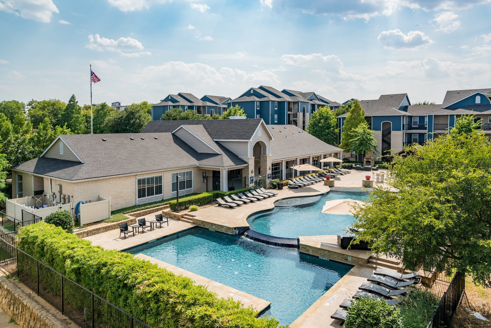 Resort Style Pool | Apartments in Denton, TX | Castlerock at Denton