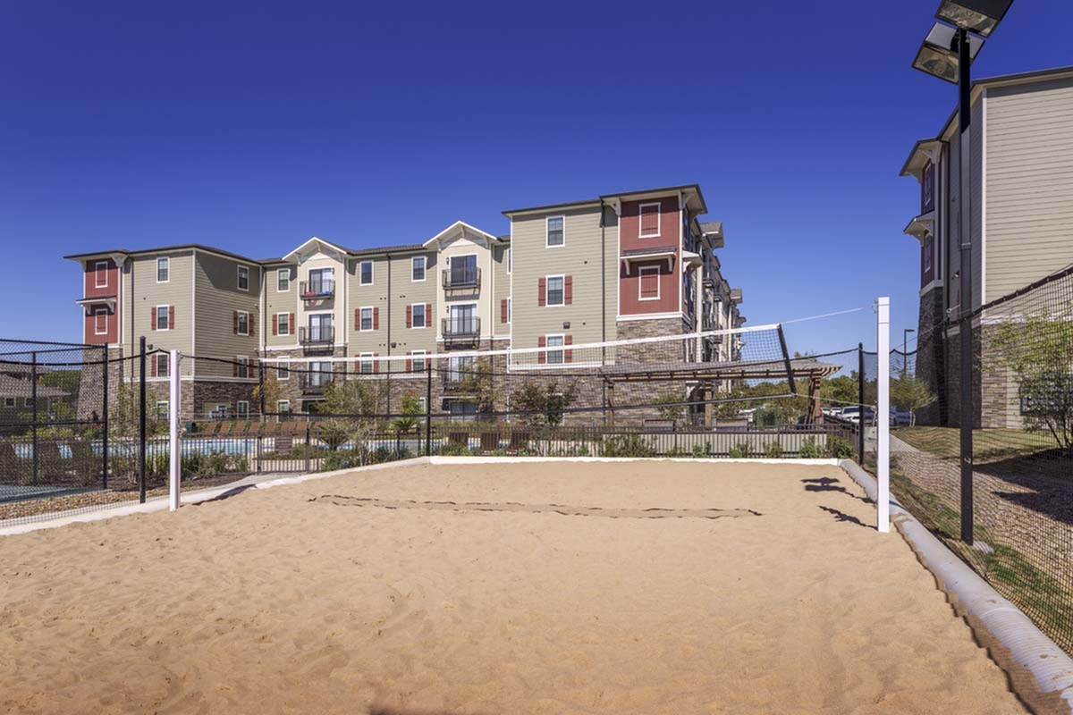 Sand Volleyball Court | San Marcos TX Apartments For Rent | Arba
