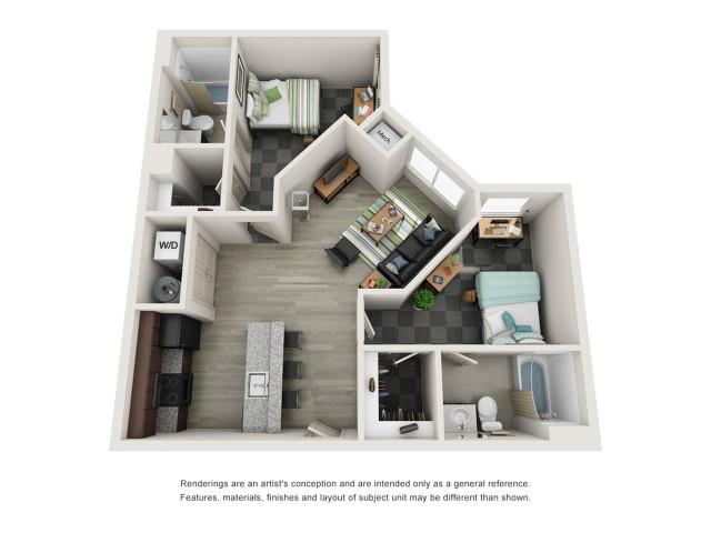 2C Floor Plan