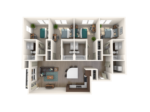 Four Bedroom (A)