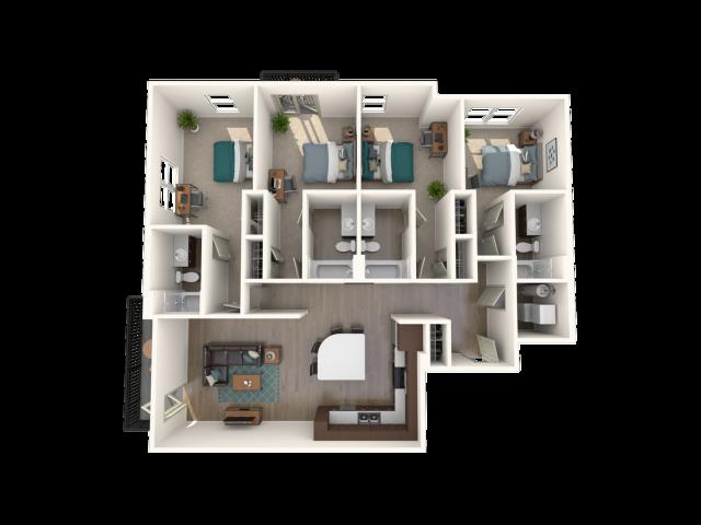 Four Bedroom (B)