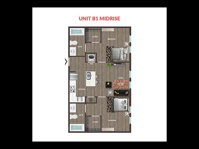 Unit B1 Midrise