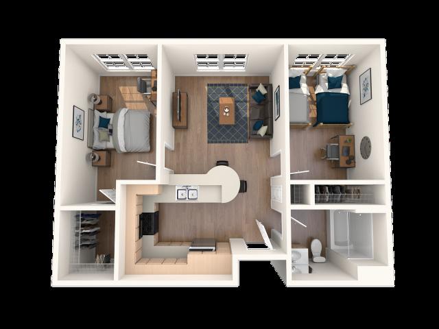 B3 Floor Plan