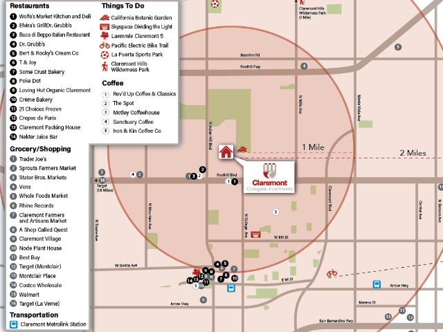 CCA Site Map