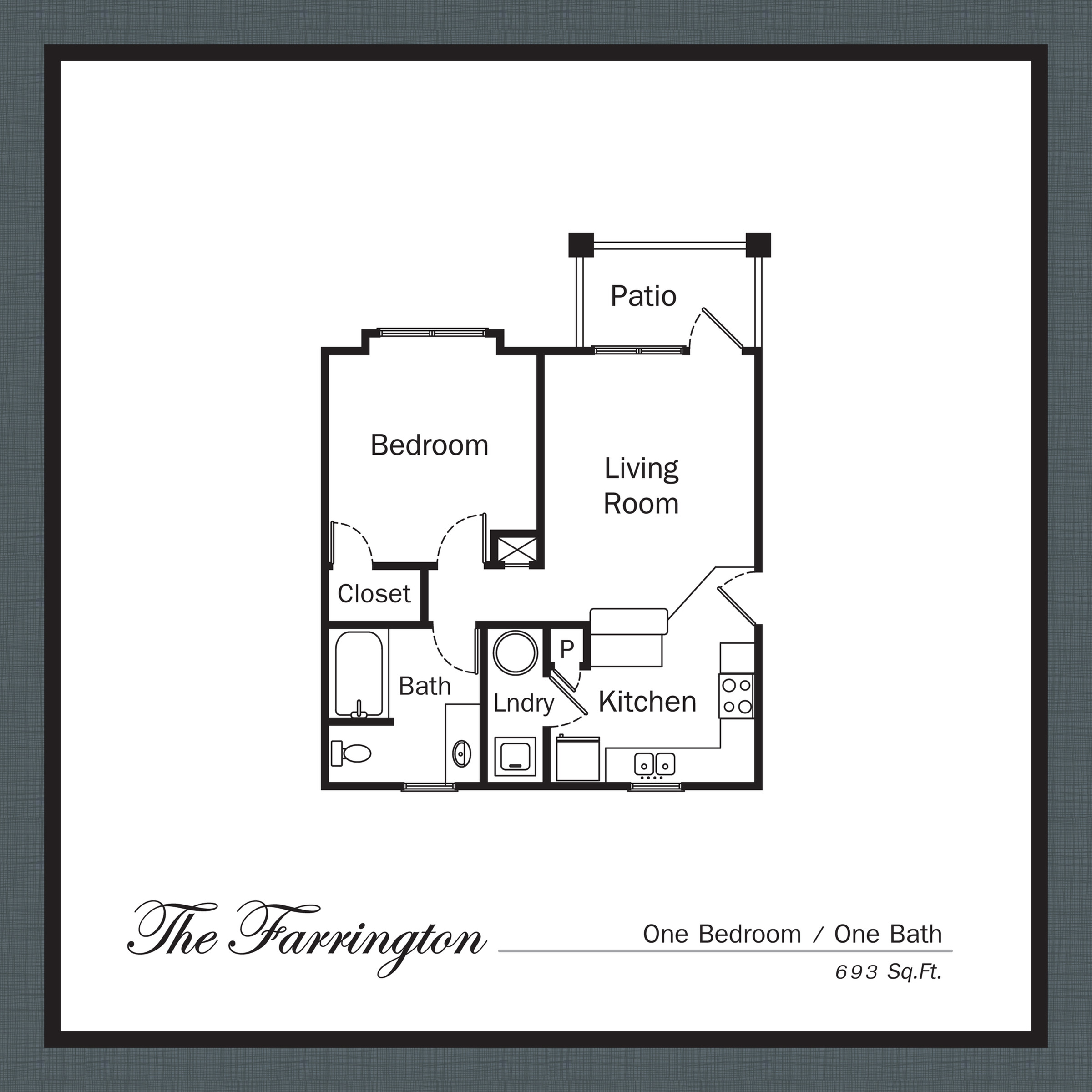 Floor Plan 3 | Apartments In Mooresville NC | Legacy Village
