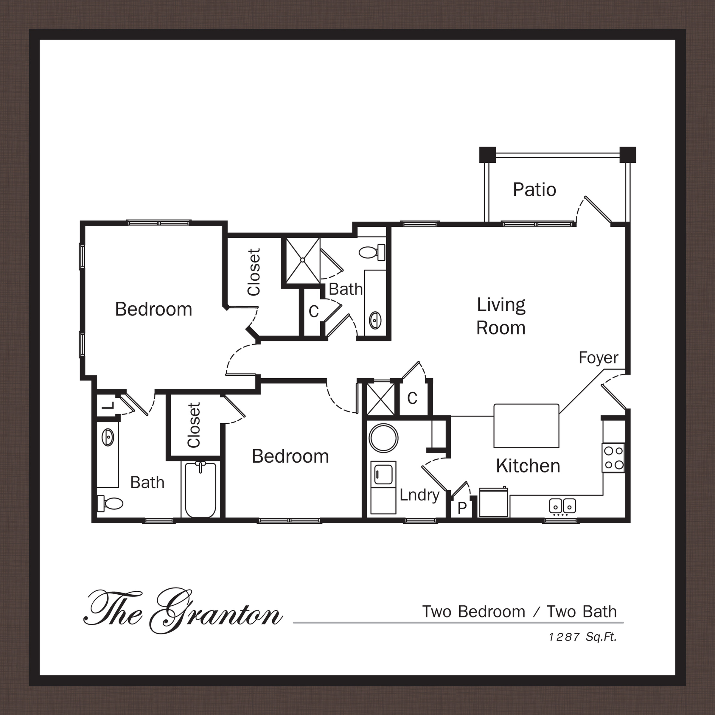 Floor Plan 6 | Apartments In Mooresville NC | Legacy Village