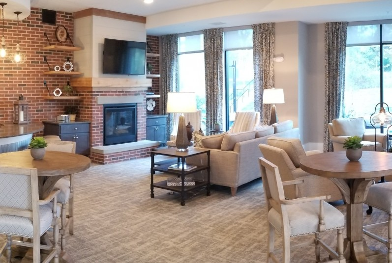Spacious Resident Club House | Apartments In Fort Mill SC | Kingsley Apartments