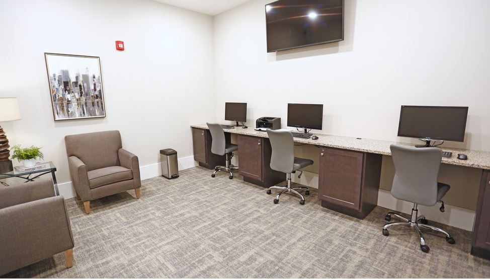 Resident Business Center | Apartments In Fort Mill SC | Kingsley Apartments