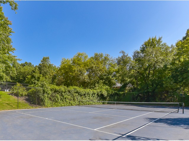 Image of Tennis Court for Hampshire Tower Apartments