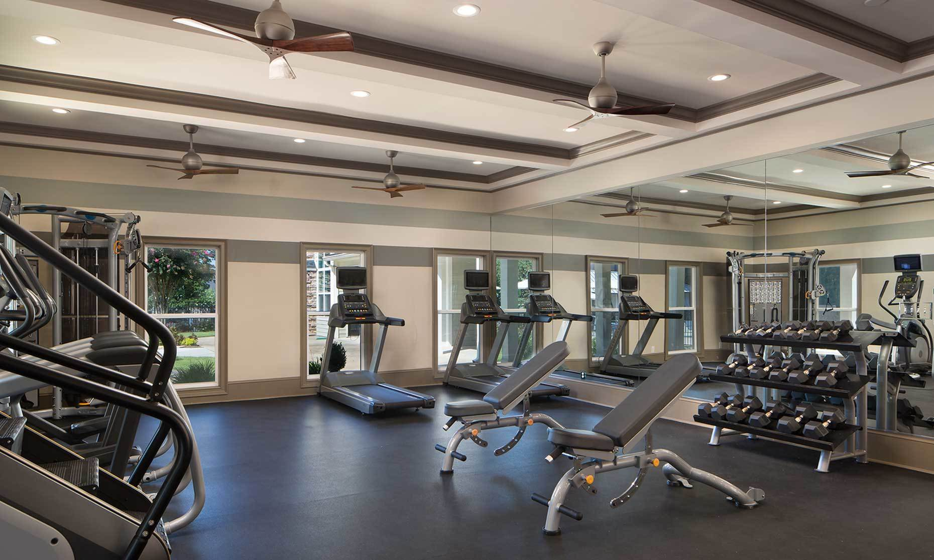 Image of 24 hour state of the art fitness center for Westpark Club