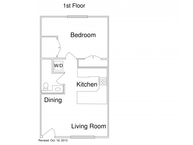 One Bedroom / One bath