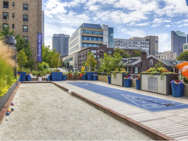 Image of Bocce & Shuffleboard Courts for Panoroma Apartments