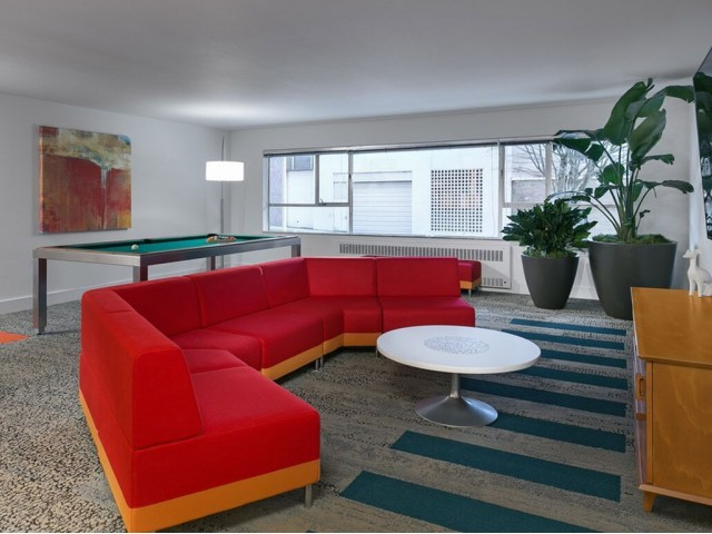 Image of Parlor Game Lounge, including Billiards and Foosball for Panorama Apartments