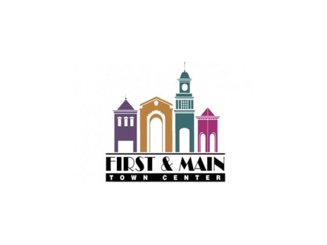 First & Main Town Center Logo