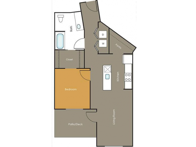 Apartments in Seattle | Lemongrass | Angeline Apartments